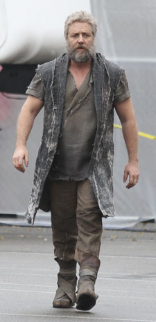 Russell Crowe as Noah (Photo: Splash News)