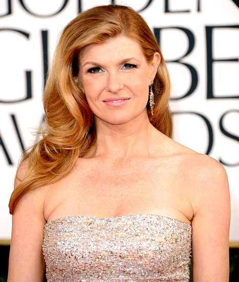 Connie Britton at this year's Golden Globe Awards show on January 13