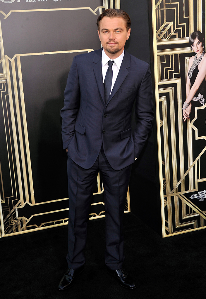 Leonardo DiCaprio at Wednesday's 'Great Gatsby' premeire in New York (Photo: Getty)