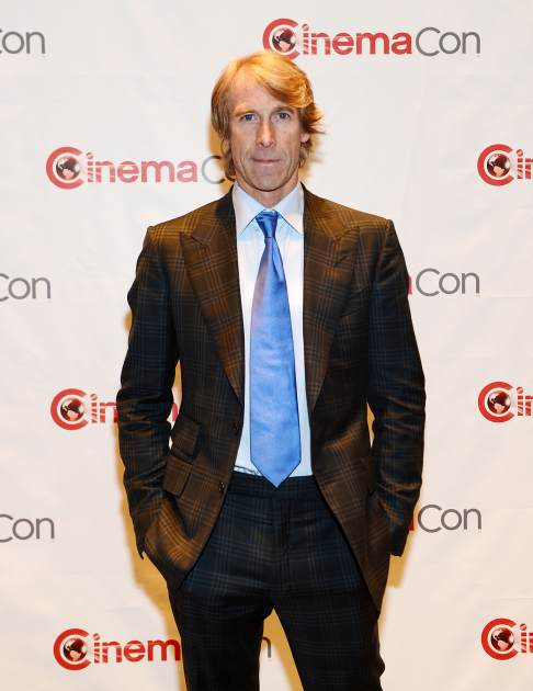 Michael Bay in Las Vegas on April 15 (Photo: Getty Premium)