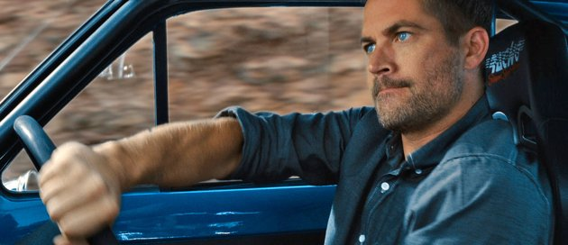 Paul Walker defies physics in 'Fast & Furious 6' (Photo: Universal)