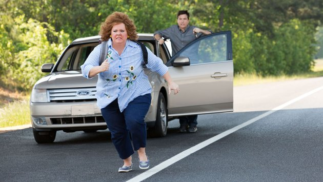 Melissa McCarthy and Jason Bateman in 'Identity Thief' (Photo: Universal Pictures)