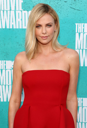 Theron at the 2012 MTV Movie Awards on June 3 (Christopher Polk/Getty Images)