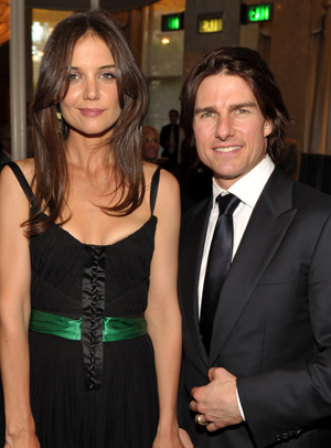 Tom Cruise and Katie Holmes (Photo by John Shearer/Getty Images)