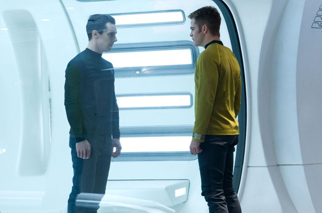 Kirk confronts his nemesis in 'Star Trek Into Darkness' (Photo: Paramount Pictures)