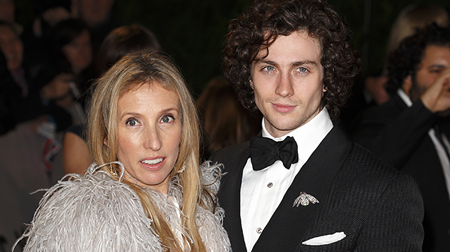 Director Sam Taylor-Johnson and husband Aaron Taylor-Johnson (Photo by Indigo/Getty Images)