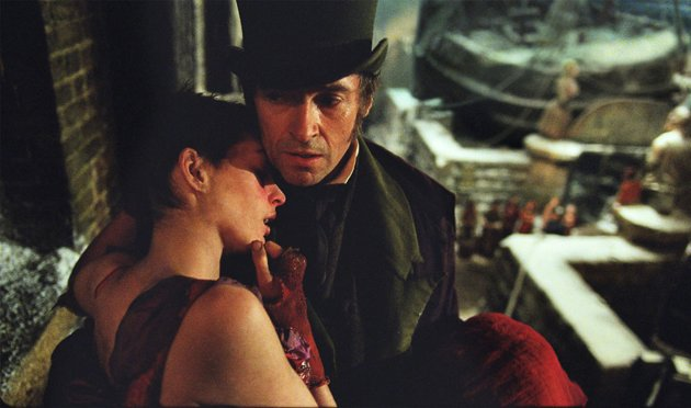Anne Hathaway and Hugh Jackman in Universal Pictures' 'Les Miserables'