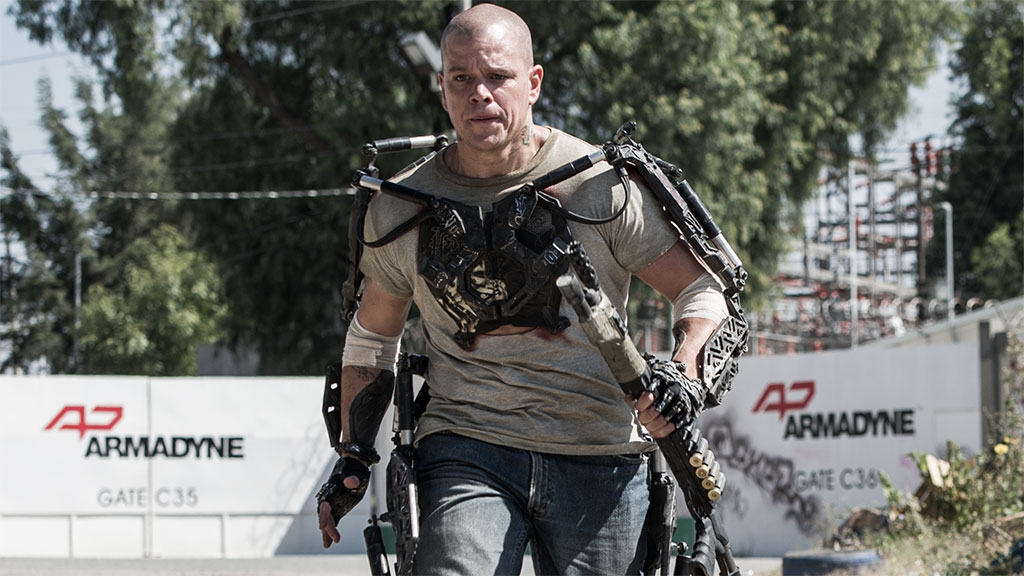 Matt Damon in 'Elysium' (Photo: TriStar Pictures)