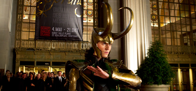 Tom Hiddleston as Loki in 'Marvel's The Avengers' (Photo: Walt Disney Pictures)