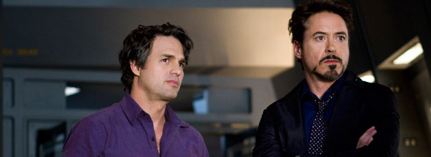 Mark Ruffalo and Robert Downey Jr. in 'Marvel's The Avengers' (Photo: Walt Disney Pictures)