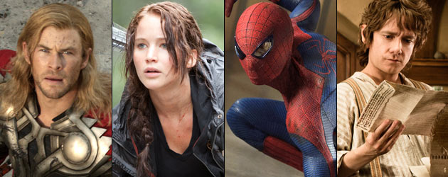 The Most Anticipated Movies of 2012