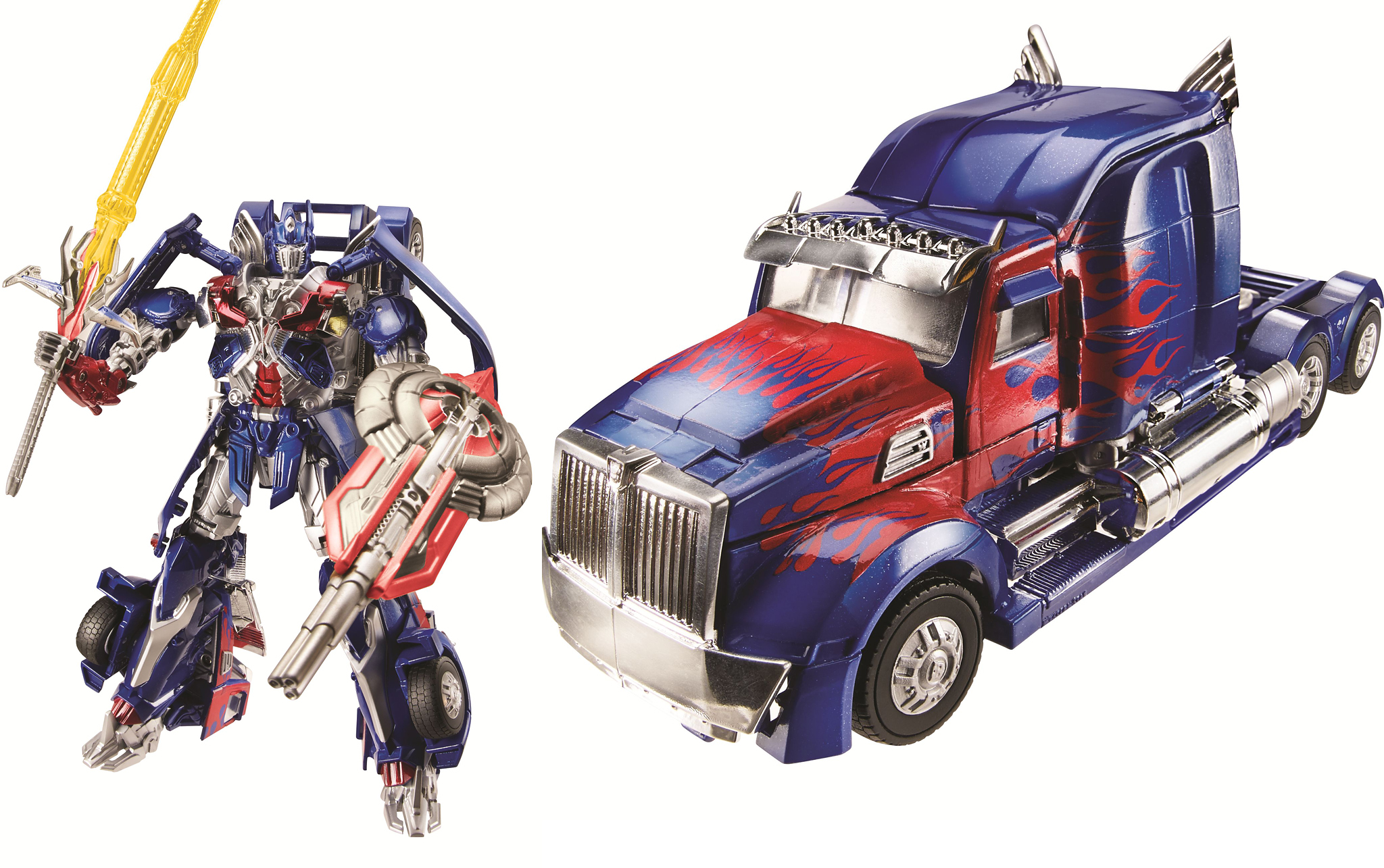 The new Optimus Prime toy (Photo: Hasbro)