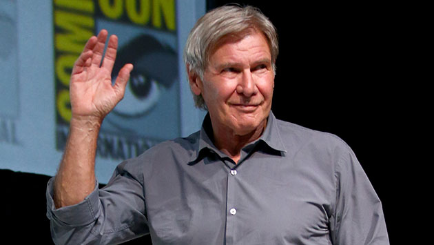 Harrison Ford at San Diego Comic-Con (Photo: Joe Scarnici/Getty Images)