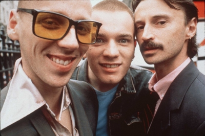 Ewen Bremner, Ewan McGregor and Robert Carlyle in 'Trainspotting,' 2006 (Photo: Getty Images)