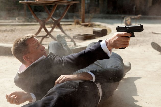 "Daniel Craig in ""Skyfall"". Photo by Columbia Pictures."