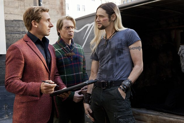 Steve Carell, Steve Buscemi and Jim Carrey in Warner Bros.' 'The Incredible Burt Wonderstone'