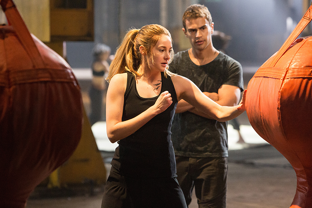 Shailene Woodley and Theo James in 'Divergent' (Photo: Summit Entertainment)