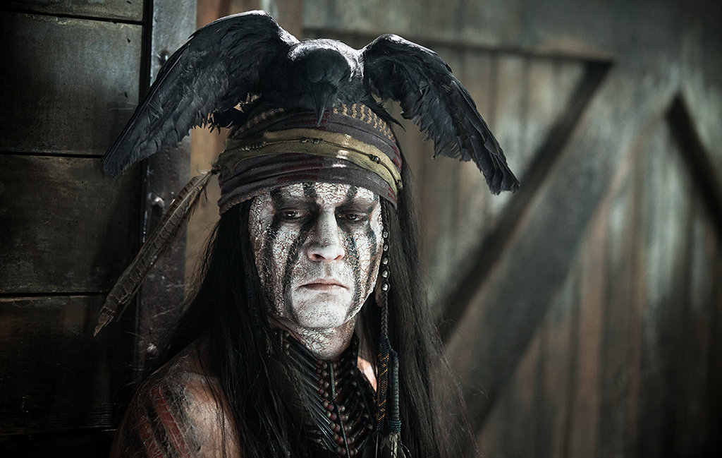 How many pegs will Johnny Depp fall following his 'Lone Ranger' fail? (Photo: Walt Disney Pictures)