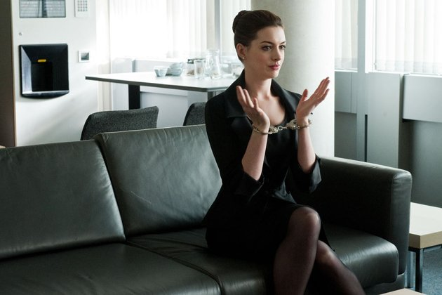 Anne Hathaway in Christopher Nolan's 'The Dark Knight Rises'. Photo courtesy of Warner Bros.