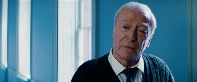 Michael Caine as Alfred in 'The Dark Knight Rises' (Photo: Warner Bros. Pictures)