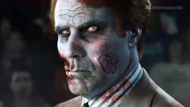 Will Ferrell, zombie-fied (Photo: MTV)