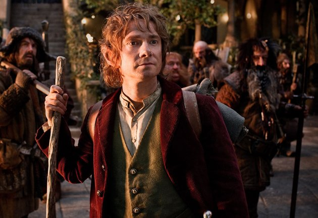 Martin Freeman in New Line Cinema's 'The Hobbit: An Unexpected Journey'