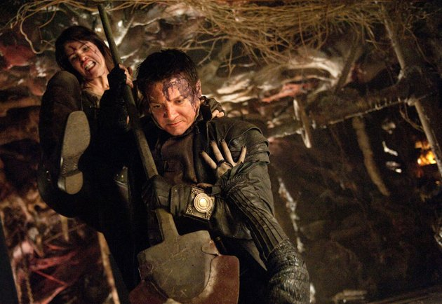 Gemma Arterton & Jeremy Renner in Paramount's 'Hansel & Gretel: Witch Hunters'