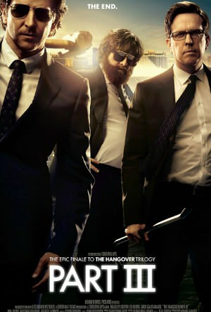 Bradley Cooper, Zach Galifianakis & Ed Helms in Warner Bros. Pictures' 'The Hangover Part III'