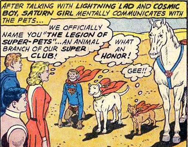 Superpets (Photo: DC Comics)