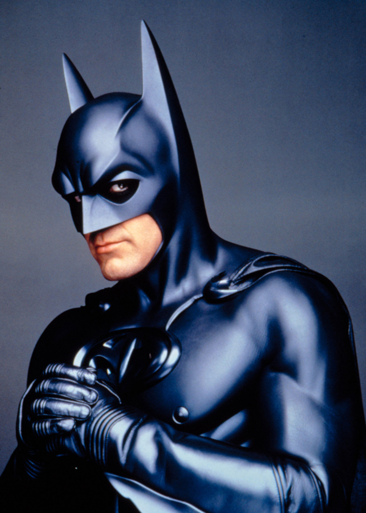 Clooney wore the Batsuit first ... and didn't like it (Photo: Warner Bros/Courtesy Everett Collection)
