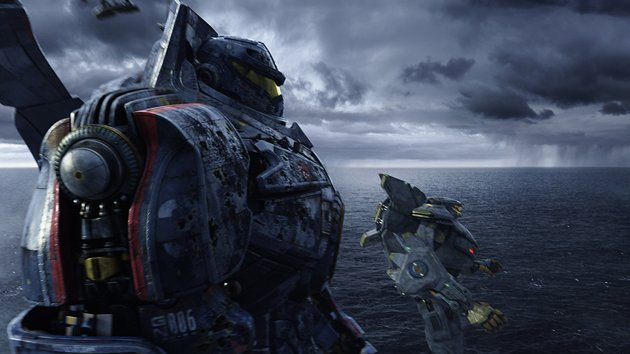 Jaegers prepping for kaiju fighting in Legendary & Warner Bros. 'Pacific Rim'.