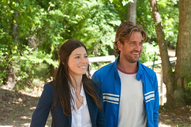 Jessica Biel, left, and Gerard Butler in 'Playing for Keeps' (Photo: FilmDistrict)