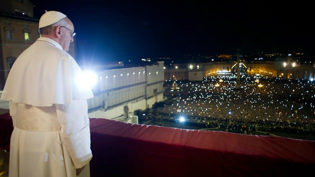 Newly elected Pope Francis I. Photo courtesy of Reuters.