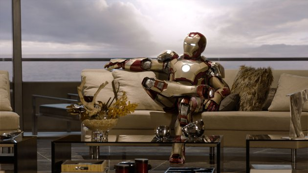 Is 'Iron Man 3' sitting pretty already? (Photo: Marvel Studios)
