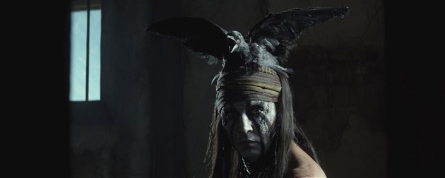 Johnny Depp in 'The Lone Ranger' (Photo: Walt Disney Pictures)