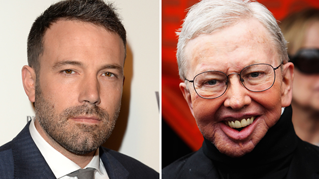 Ben Affleck, left, and the late Roger Ebert (Photo: Getty Images)