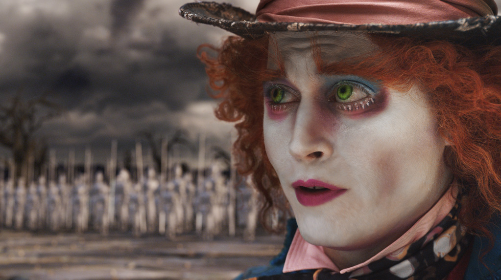 Johnny Depp as the Mad Hatter in 'Alice in Wonderland' (Photo: Walt Disney Pictures)