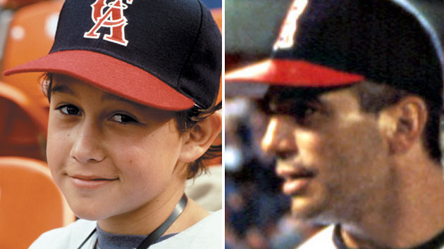 Gordon-Levitt, left, and Danza in 1994's 'Angels in the Outfield' (Photo: Everett)