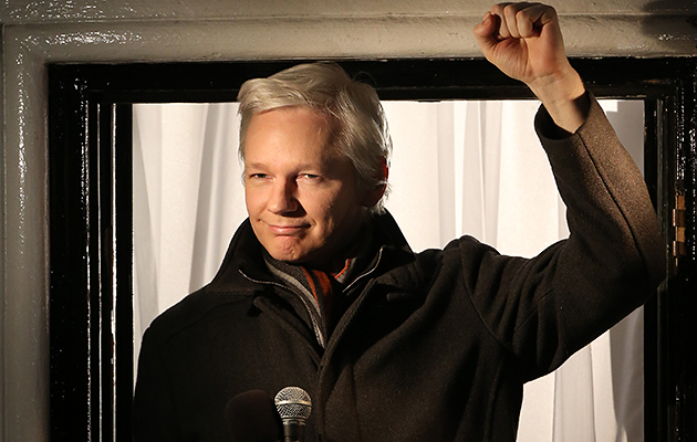 Assange is said to have cooperated with the making of 'The Fifth Estate' (Photo: Peter Macdiarmid/Getty)
