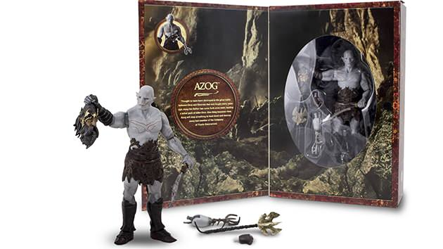 San Diego Comic-Con 2013 Exclusive Hobbit Collector Figure—Azog. Photo courtesy of The Bridge Direct.