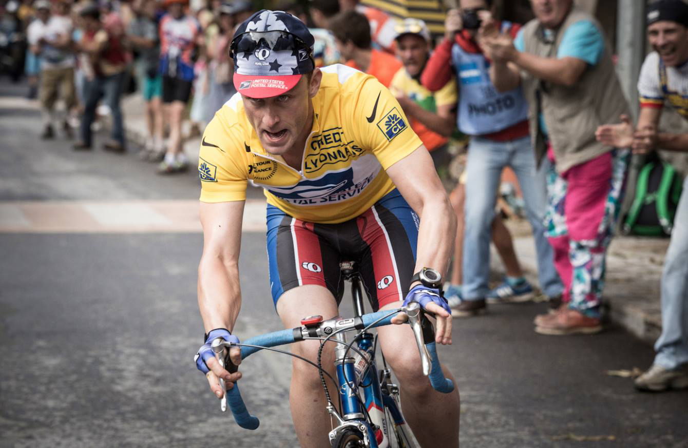 Ben Foster as Lance Armstrong (Photo Credit: Facebook/Studio Canal)