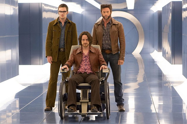 The first official photo for 'X-Men: Days of Future Past' (Photo: Lionsgate)