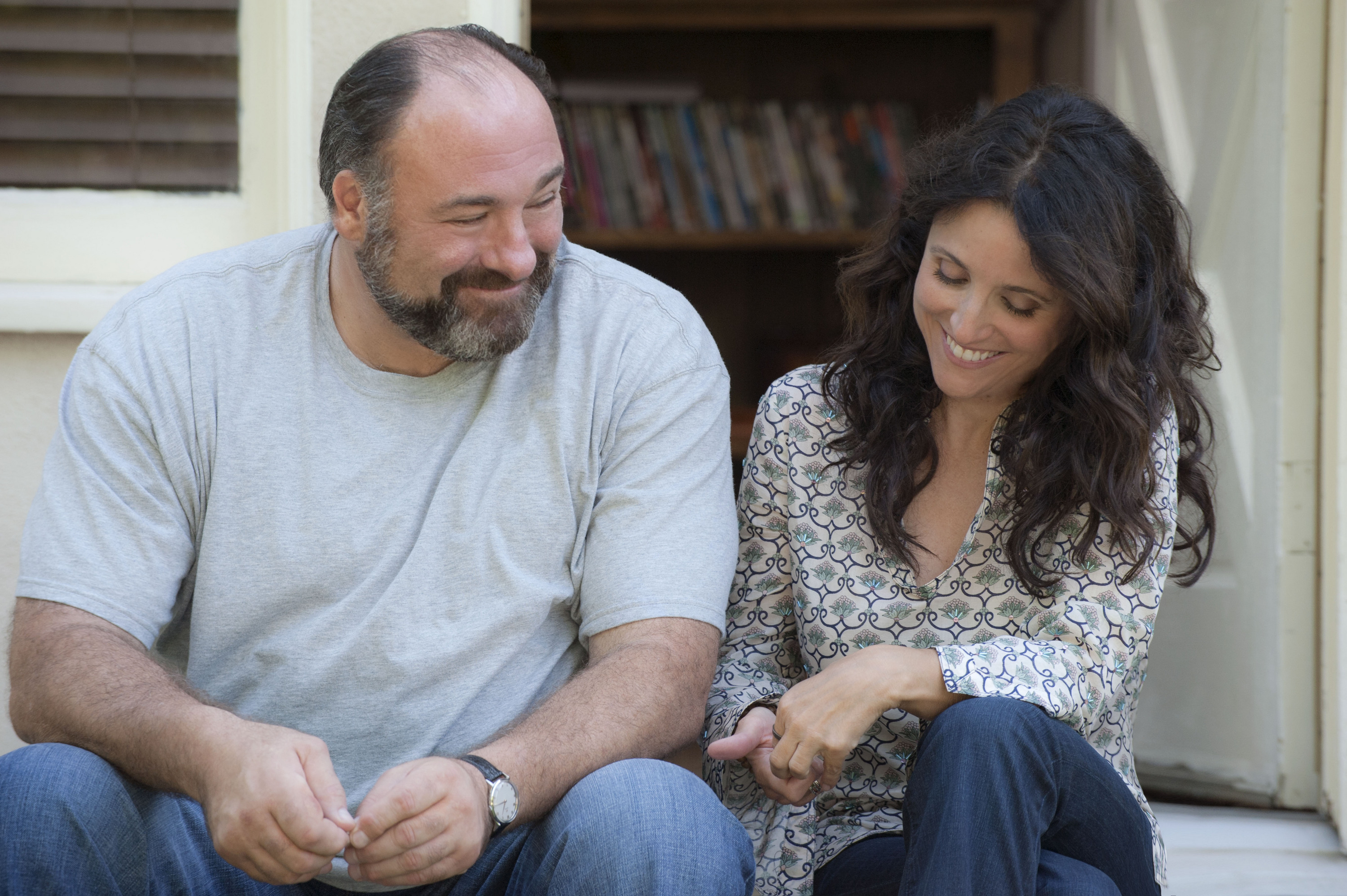 James Gandolfini and Julia Louis-Dreyfus in Fox Searchlight's 'Enough Said' (Photo: Toronto International Film Festival)