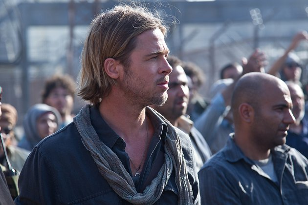 Brad Pitt in Paramount Pictures' 'World War Z'