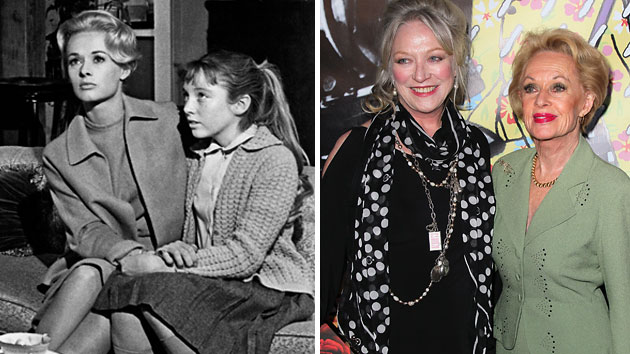 Tippi Hedren and Veronica Cartwright, then and now (Photo: Everett/Getty)