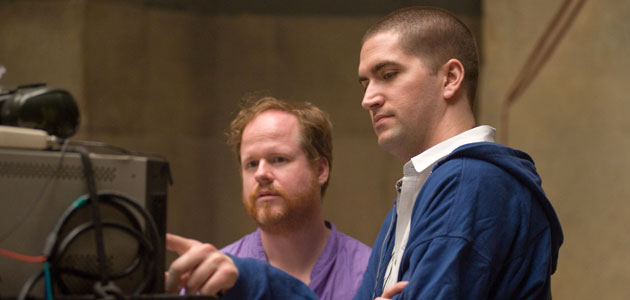'The Cabin in the Woods' director Drew Goddard (R) and producer Joss Whedon (Photo: Lionsgate Films)