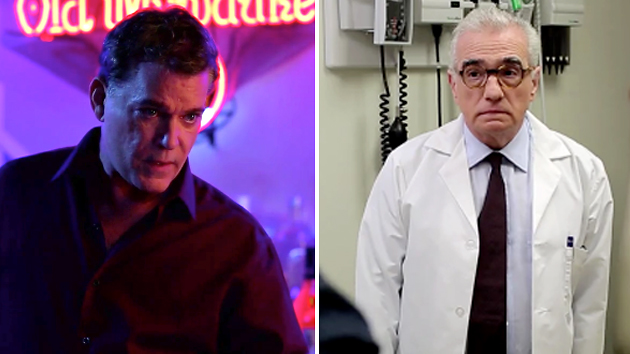 Ray Liotta and Martin Scorsese in 'Campus Life' (Photo: JumpView Entertainment)