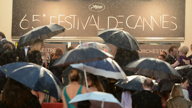 Rain at Cannes (Photo: Venturelli/WireImage)