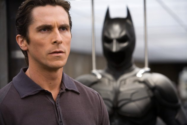 Christian Bale as Bruce Wayne in Warner Bros. Pictures' 'The Dark Knight'.