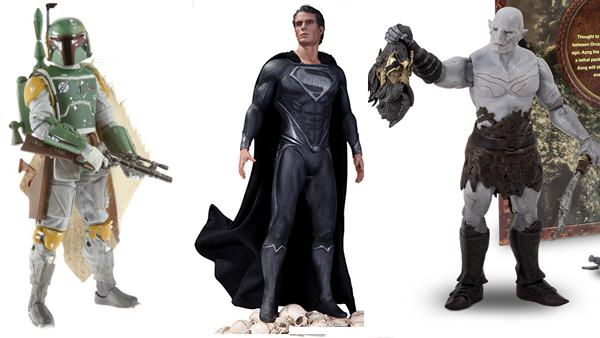 Hasbro's Boba Fett Black Series, DC Comics' Superman Variant, & The Bride Direct's Azog